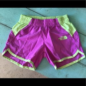 The North Face shorts.
